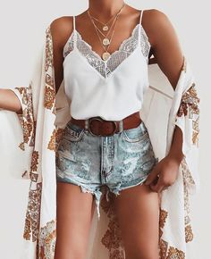 Cute fashion ideas that make you look cool - fashion - . - Cute fashion ideas that make you look cool let - Hot Outfits, Cute Summer Outfits, Spring Outfits, Trendy Outfits, Fashion Outfits, Fashion Ideas, Sneakers Fashion, White Top Outfit Summer, Fashion Clothes