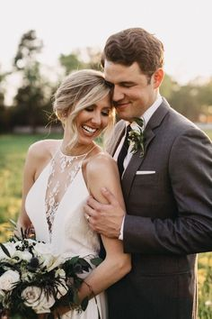 Love this cute couple's rustic summer floral decor and elegant style | image by The Folmar Photography #rusticweddinginspo #summerweddinginspo #texasweddinginspo #traditionalwedding #countryweddinginspo #weddingphotoinspiration #weddingphotoideas #weddingphotoideas #weddingphotoinspiration #weddingphotoideas #weddingportrait #couple #cutecouple #coupleportrait #firstlook