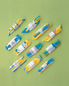 mix-and-match napkins
