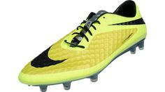 Nike Hypervenom Phantom FG Soccer Cleats - Vibrant Yellow with Volt and Black...Available at SoccerPro now!
