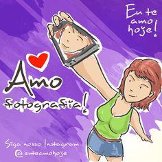 Amo fotografia #euteamohoje #fotografia     AMO MUCHO A LA FOTOGRAFIA :D
