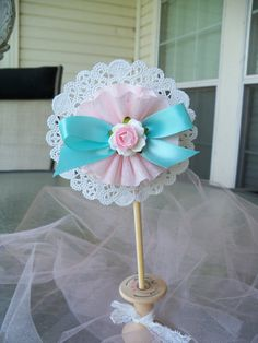 Marie Antoinette Inspired Decorative Wand Or Cake Topper for Birthday Party