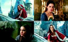 Emma Watson as Belle in the new 2017 live action Beauty and the Beast movie. ❤️❤️❤️ Can't wait!!!