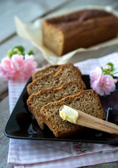 No Salt Recipes, Bread Recipes, Savoury Baking, Banana Bread, Rolls, Food And Drink, Snacks, Cooking, Desserts