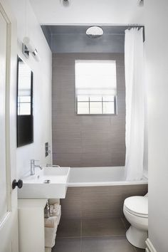 1000 images about salle de bain petite on pinterest shower rooms door storage and black for Petit salle de bain moderne