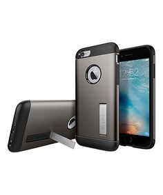 Look at this Gunmetal Slim Armor Case for iPhone 6/6s on #zulily today!