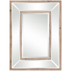 Cooper Classics Odessa Mirror in Distressed Natural Wood