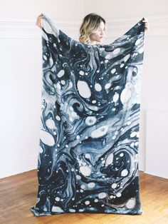 """VALLARTA SCARF - MARBLE 