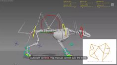 Quadruped procedural animation and rig on Vimeo