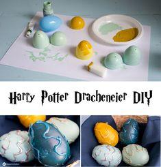harry potter dracheneier Selbermachen diy karneval partyidee