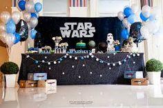 Resultado de imagem para centro de mesa festa star wars
