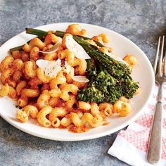 Cook Once, Eat 3 Times: Pasta with Romesco and Garlic Broccolini | CookingLight.com