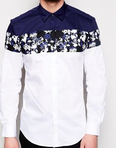 Navy, white, and a few florals, Nice!!