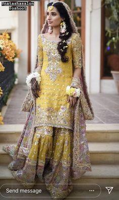 pakistani wedding dress Ideas hair styles wedding indian pakistani dresses Source by weddingdressae ideas pakistani Pakistani Mehndi Dress, Bridal Mehndi Dresses, Asian Bridal Dresses, Asian Wedding Dress, Pakistani Formal Dresses, Pakistani Wedding Outfits, Pakistani Bridal Dresses, Pakistani Wedding Dresses, Pakistani Dress Design