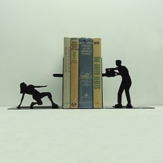 Creative book ends
