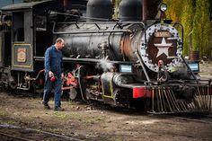 ferrocarriles del sud: EN DEFENSA DE LA TROCHITA Train, Vehicles, Lineman, Trains, Parking Lot, Boats, Viajes, Architecture, Car