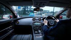 jaguar land rover 360 virtual urban windscreen uses heads-up display