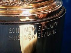 The Webb Ellis Cup All Blacks, Rugby, New Zealand, Mason Jars, My Favorite Things, Canning Jars, Glass Jars, Jars, Football