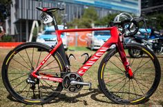 Katusha is still on Canyon bikes and using the new Aeroad CF SLX. Katusha also rides a selection of the Canyon Ultimate CF SLX bikes. You can read our  review here.