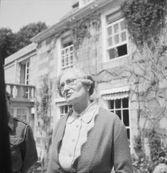 """Mrs Hathaway, the """"Dame of Sark""""."""