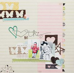 *One Scrappin' Mama: using up your scraps with Lily Bee