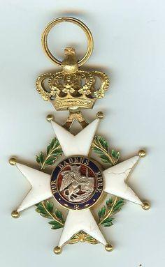 Military Karl Friedrich Merit Order Knight's Cross Reverse