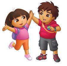 Dora And Diego Dora The Explorer Dora Cartoon Dora The Explorer Pictures