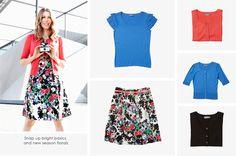 Snap up bright florals & new season knitwear