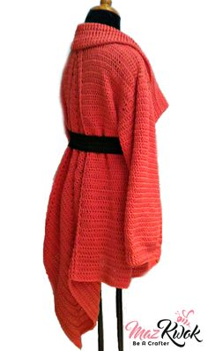 Crochet Mountain Ridge coat
