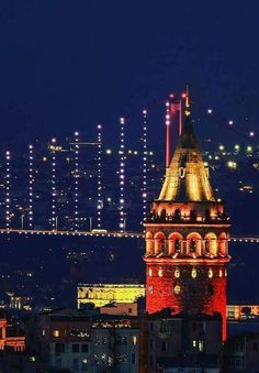 Ahmet krt Wonderful Places, Beautiful Places, Visit Turkey, Turkey Travel, Dream City, Istanbul Turkey, Kirchen, Beautiful Landscapes, Big Ben