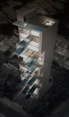 Proposed Project: Sky Condos | Location: Lima, Peru | Architect: DCPP arquitectos (*based in Mexico City) | more from the architect ... http://www.dcpparquitectos.com/sky-condos/