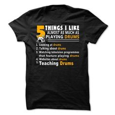 I Love Drum Drumming Teacher T shirts #tee #tshirt #named tshirt #hobbie tshirts #Drum