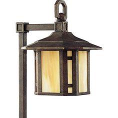 Progress Lighting Arts and Crafts Weathered Bronze Low Voltage 18-Watt (18W Equivalent) Incandescent Path Light