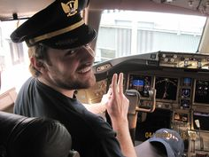 Chris can be my pilot anytime ;)