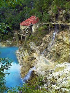 Old mill, Kotli, Istra, Croatia