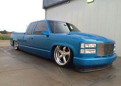 Kyle Pashulka's 1998 GMC on bags Chevrolet Silverado, Silverado Truck, C10 Chevy Truck, Chevy Pickups, Silverado 1500, Bagged Trucks, Lowered Trucks, Ford Trucks, Obs Truck