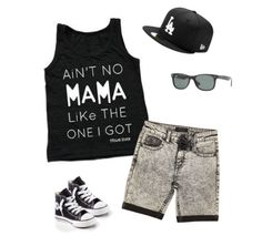 Ain't no Mama like the one I got✖️Summer outfit inspiration with our new tank top available now! Be sure to subscribe to our newsletters & receive a special deal for Easter weekend | Shop www.stellar-seven.com | #stellarseven #aintnomamaliketheoneigot #ig_kids #ootd #boysootd #kidsootd #babyootd #summerkids #style #converse #riverisland #rayban #polyvore #boysfashion #kidsfashion #smallbusiness