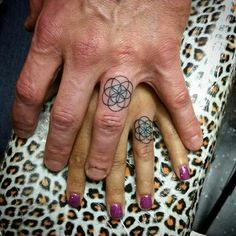 Possible wedding tattoo. Seed of life