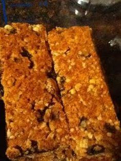 granola bars...