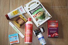 My iherb order Pure Leaf Tea, Shower Gel, Pomegranate, Berries, Mango, Pure Products, Drinks, Bottle, Manga