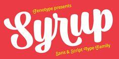 Syrup™ - Webfont & Desktop font « MyFonts