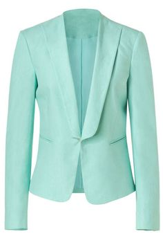 Switch out your usual go-to blazer for a vibrant pastel