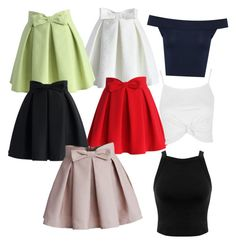 A fashion look from March 2016 featuring cotton jersey, navy blue crop top and strappy crop top. Browse and shop related looks. Blonde Fashion, Blondes, Miss Selfridge, Skater Skirt, Things I Want, Topshop, Fashion Looks, Colour, Skirts