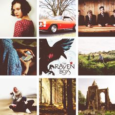 might have already pinned this b4 but i just loooooove it too much!The Raven Boys by Maggie Stiefvater
