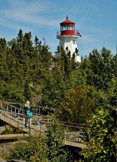 Otter Island #Lighthouse - Ontario, #Canada   http://dennisharper.lnf.com/