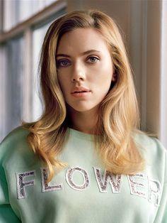 Scarlett Johansson (wearing Christopher Kane) by Alasdair McLellan for WSJ April 2014