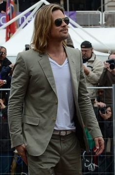 "Brad Pitt a su llegada al photocall de ""Killing them Softly"" en Cannes"