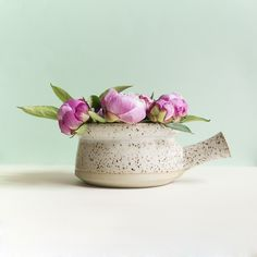 The classic midcentury terrine pot. With fancy spots. So on point.
