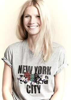 The Slogan Tee by Cynthia Rowley. #goopget