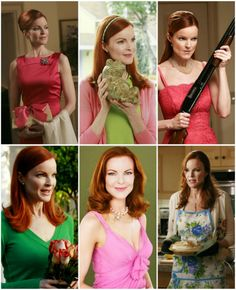 Pink and Green Thursday: Fall TV Lineup Housewife Photos, Marcia Cross, Desperate Housewives Bree, Bree Van De Kamp, Tv Lineup, Gabrielle Solis, Fall Tv, Perfect Relationship, Movies